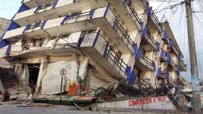 Mexico CITY Earthquake by Flygossip.com