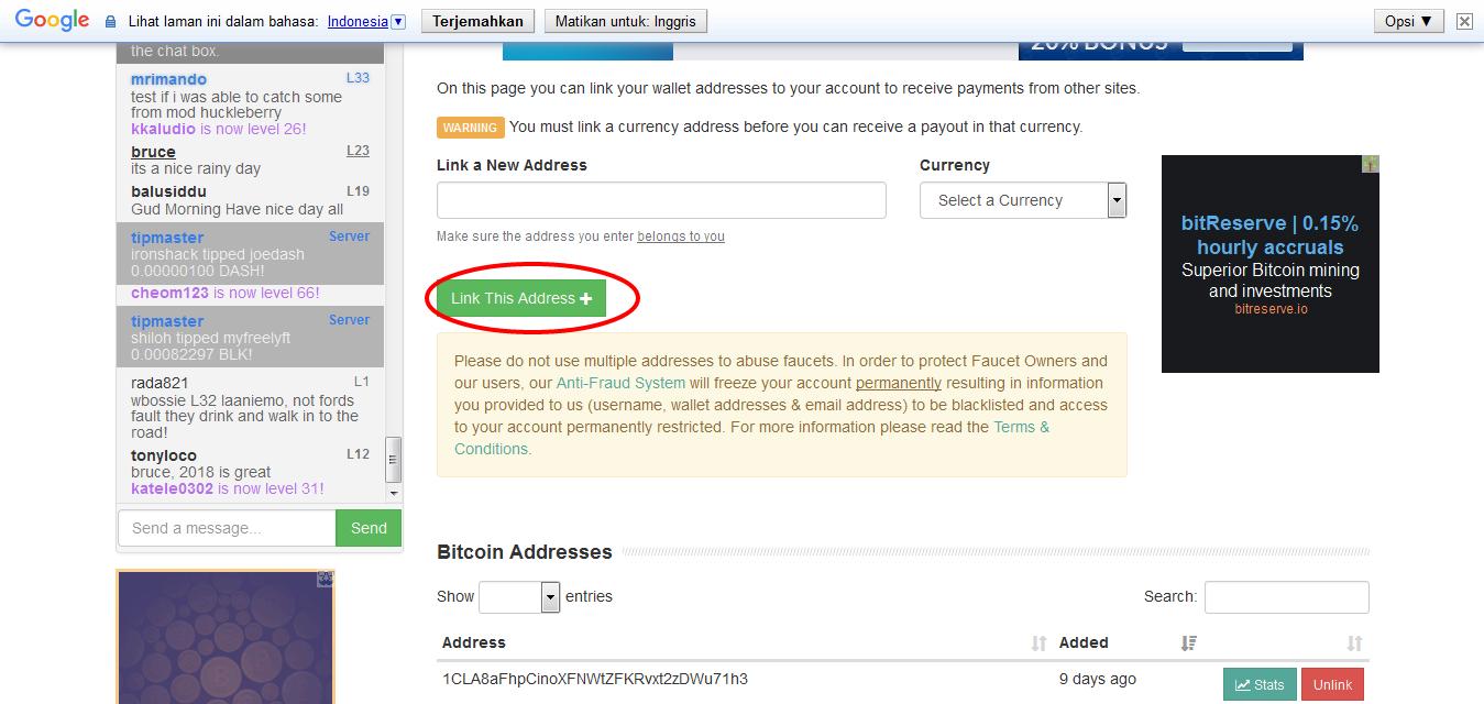 bitcoin cash fork free money