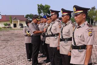 Kapolres Aceh Singkil Sertijabkan 9 Perwira