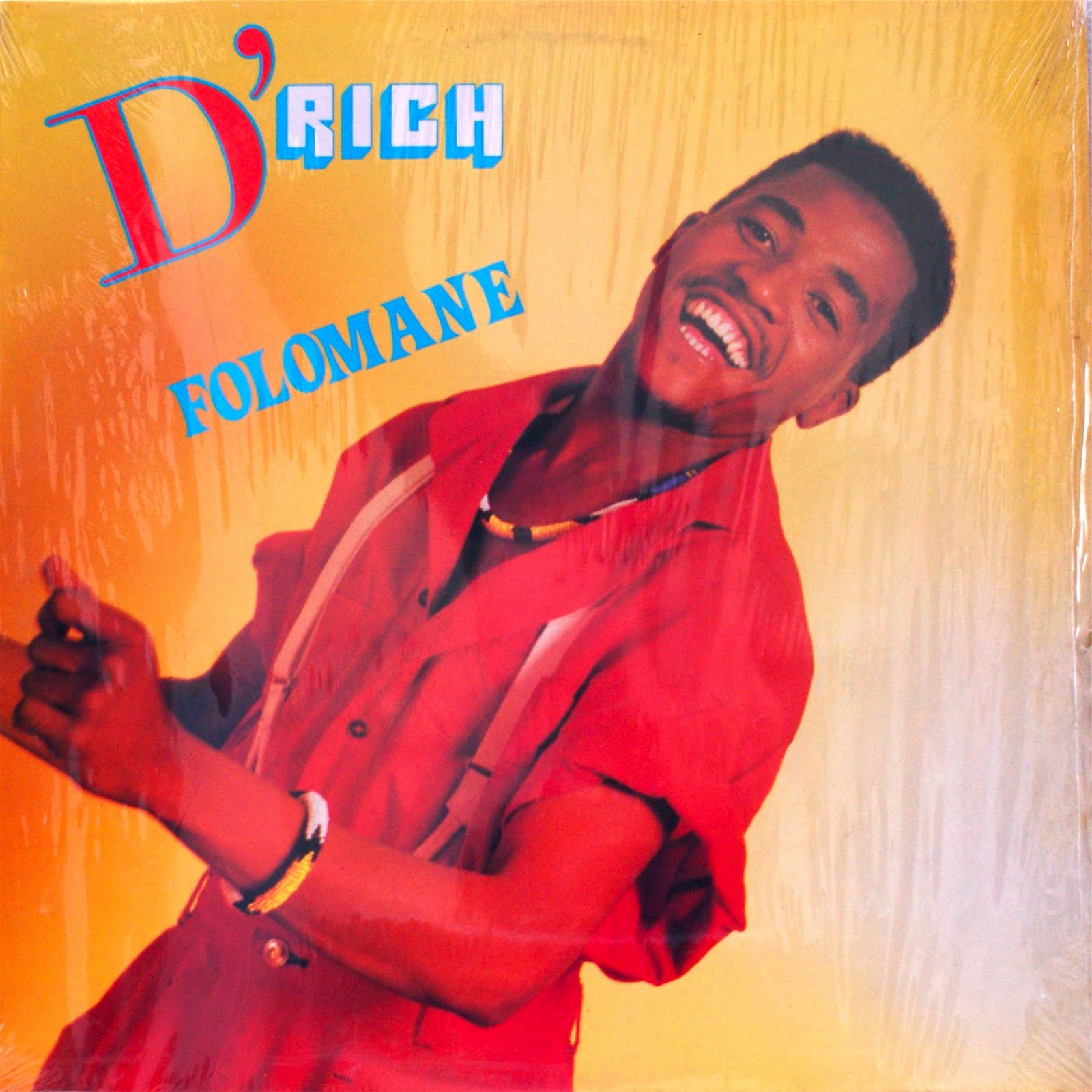 Afro-Synth: D'RICH - Folomane (1989)