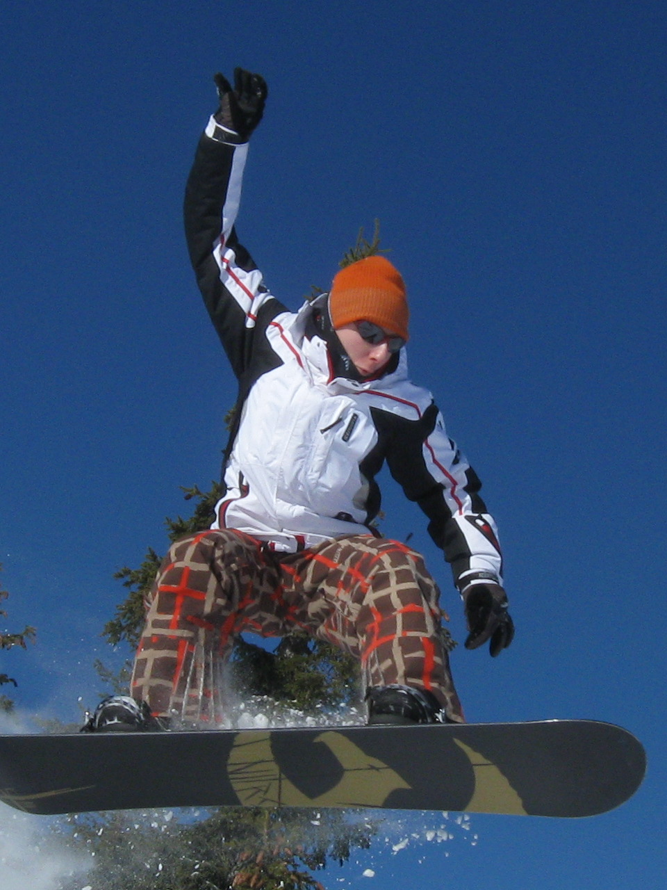 My snowboarding picture