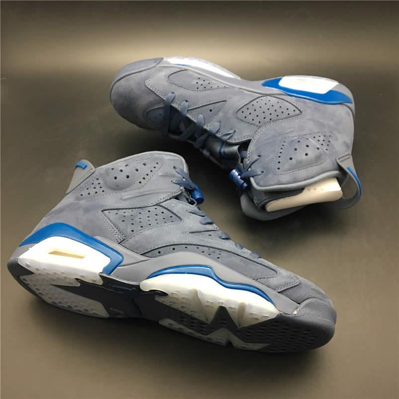 0597f743e9d Air Jordan 6 'Jimmy Butler' PE Diffused Blue On Feet 384664-400 -  www.anpkick.com