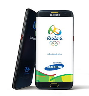SAMSUNG announces Galaxy S7 edge Olympic Games Limited Edition