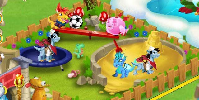 Jardin de infancia amigos para dragon city for El jardin de los dragones