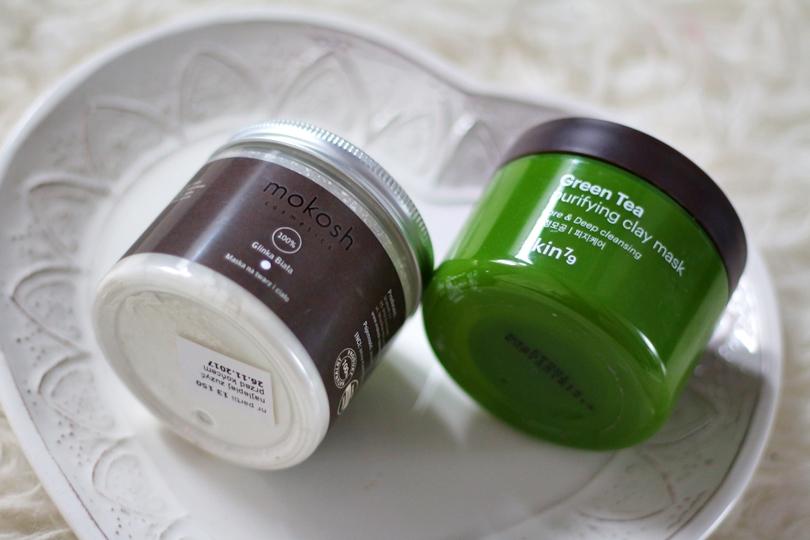 bielenda, olejek różany, foreo, mokosh, glinka biała, Skin79 Green tea purifying clay mask, skin79, Organique basic cleaner, peeling, Bandi, sayen, płyn micelarny, sylveco, resibo,