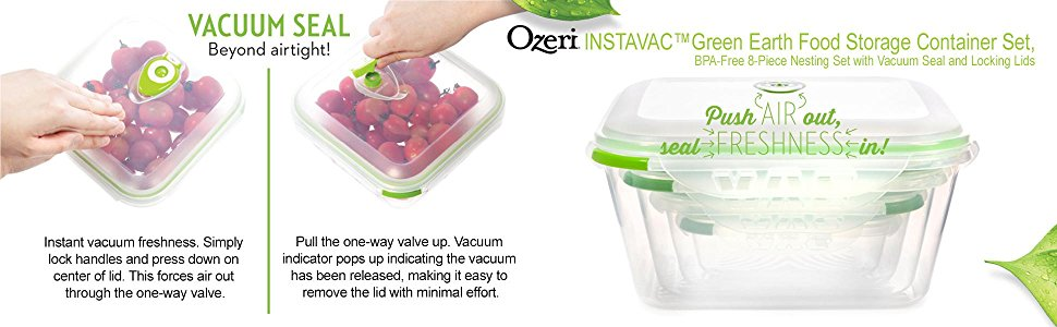 Highlights By Haley Food Storage From Ozeri and Some Simple Grocery