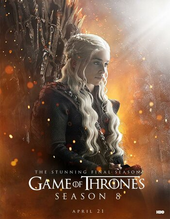 Game of Thrones English S08 Complete 720p 480p WEB-DL Hindi ESubs