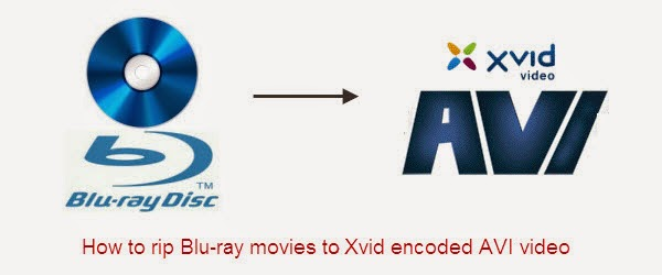rip blu-ray to xvid avi