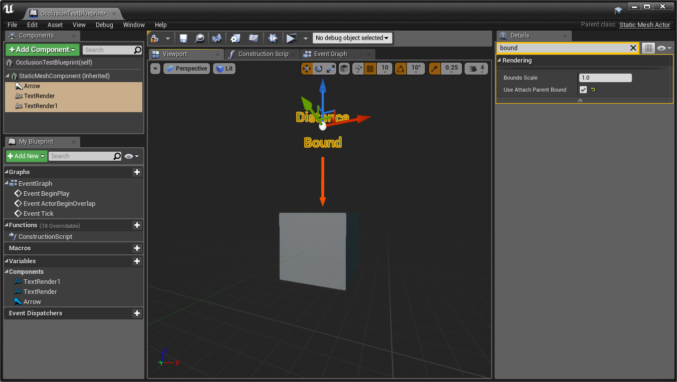 Occlusion test actor game engine bread step 1 malvernweather Image collections