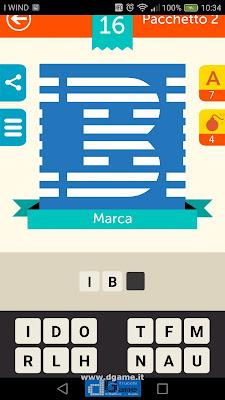 Iconica Italia Pop Logo Quiz soluzione pacchetto 2 livelli 16-50