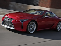 2021 Lexus LC500h Hybrid Review