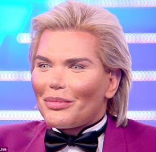 The only real part of my body is my manhood, I may have a sex change and become a Barbie' - Surgery addict, Human Ken Doll Rodrigo Alves