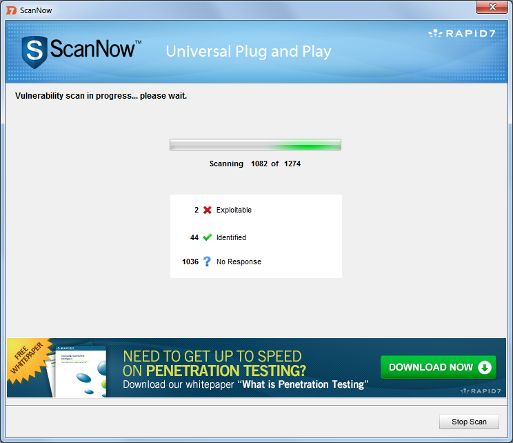 UPnP SSDP M-SEARCH Information Discovery