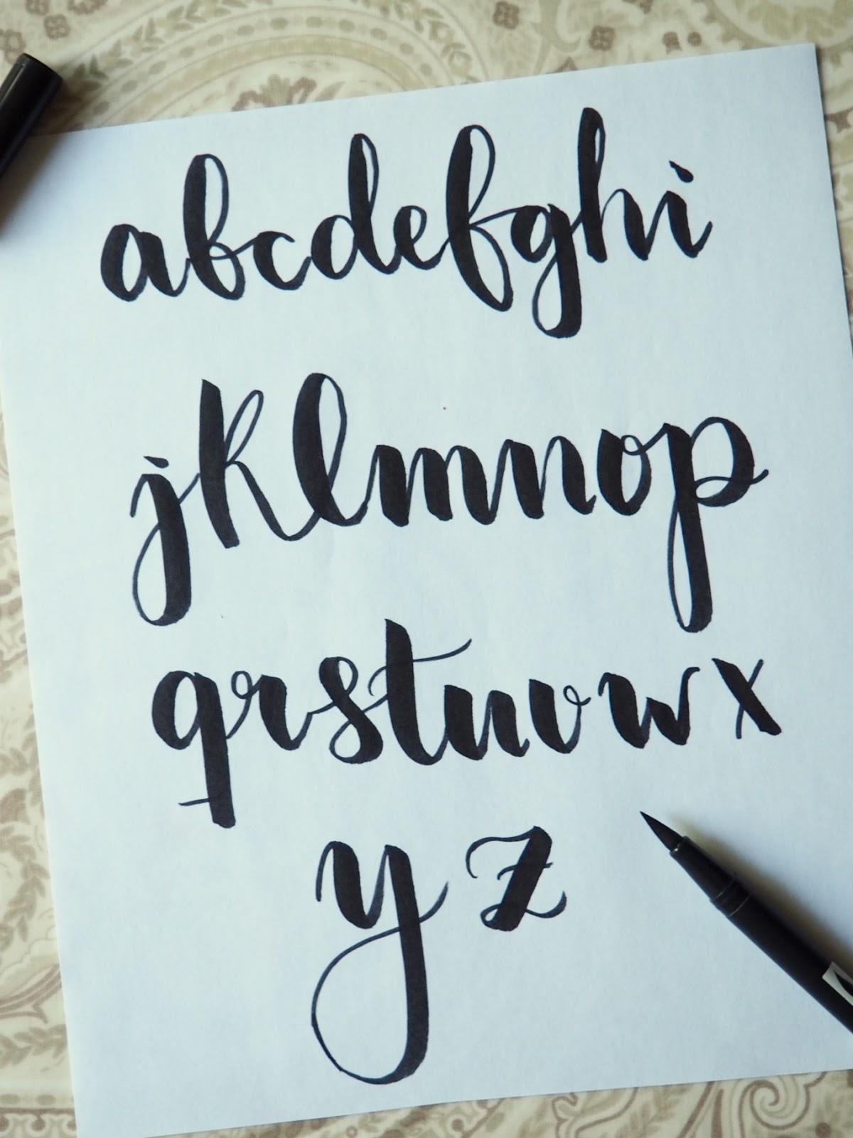 Practiquemos lettering mis 3 estilos de letra m s usados for Estilos de letras