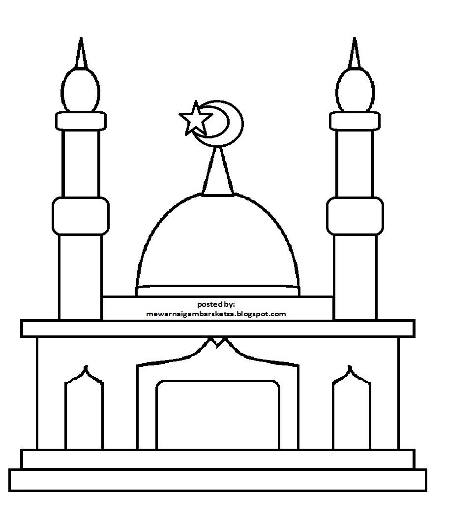 Mewarnai Gambar Masjid Gambar Mewarnai Masjid Download Mewarnai Gambar Masjid Download Gambar Masjid Sketsa Gambar Masjid Sketsa Masjid Gambar Masjid