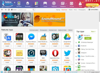 Free Download Mobogenie Market 2.2.22.5 APK for Android