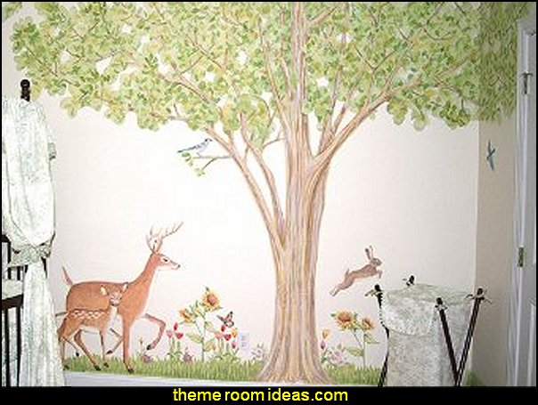 Spring Time  Tree  wall - Reusable Wall Decoration