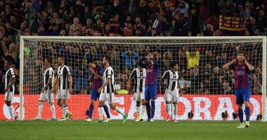 برشلونة يتعثر امام يوفنتوس بالتعادل وخرج من البطولة