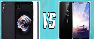Nokia X6 vs Xiaomi Redmi Note 5 Pro