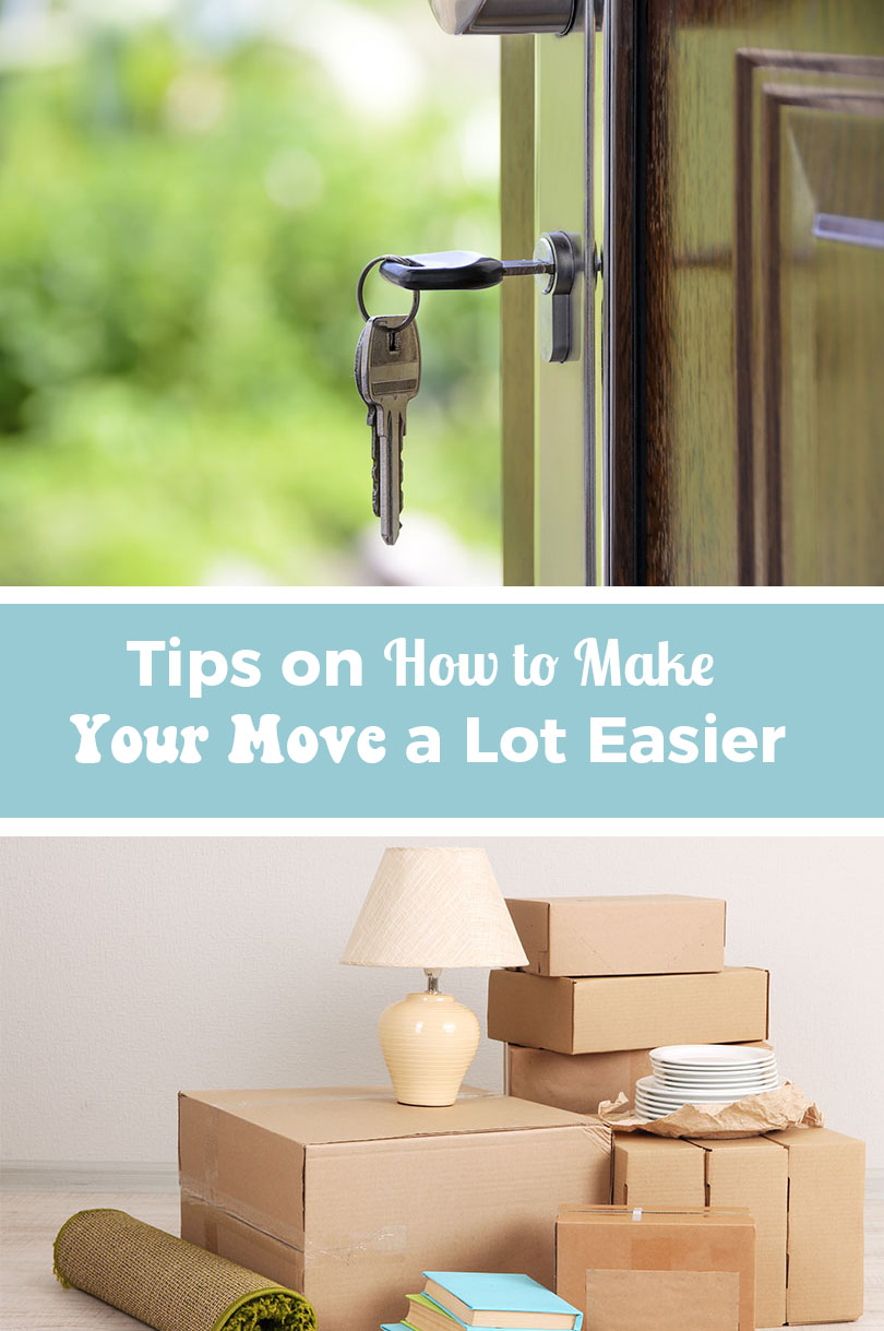 4 Tips on How to Make Your Move a Lot Easier