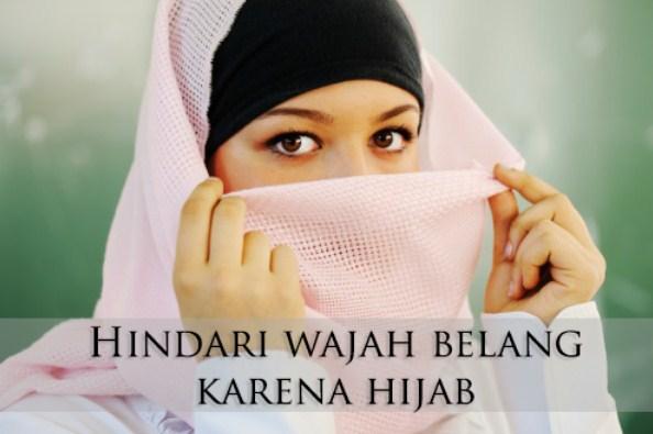 Tips Ampuh Mencegah Dan Mengatasi Kulit Wajah Belang Karena Jilbab