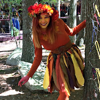 Wood Nymph at King Richard's Faire Carver MA_New England Fall Events