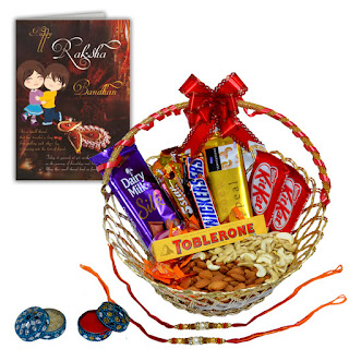 Chocolate Image Of Raksha bandhan 2017