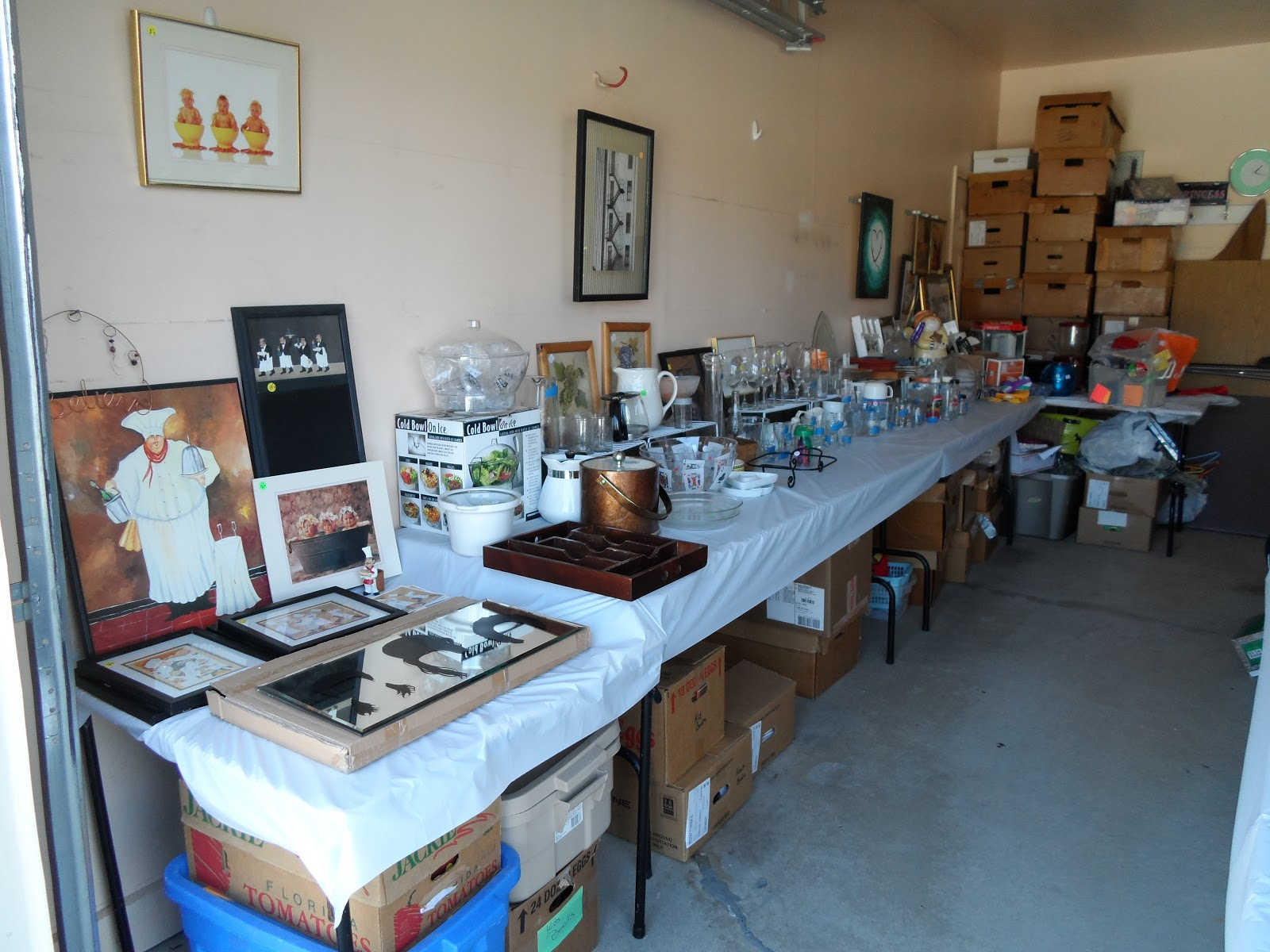 Garage $ale GrOOve: TIPS TO SET UP YOUR GARAGE SALE