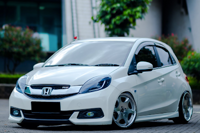 Honda Brio Satya Modifikasi Ceper