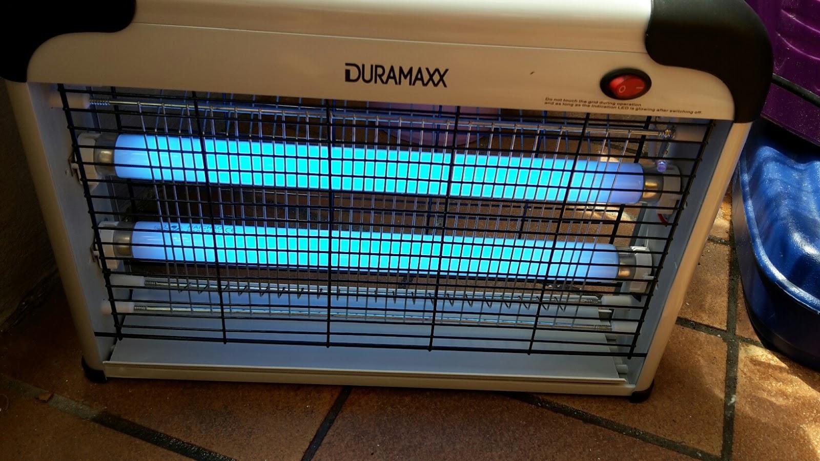 mona 39 s blog duramaxx mosquito ex 4000 elektrischer insektenschutz uv licht insektenvernichter. Black Bedroom Furniture Sets. Home Design Ideas