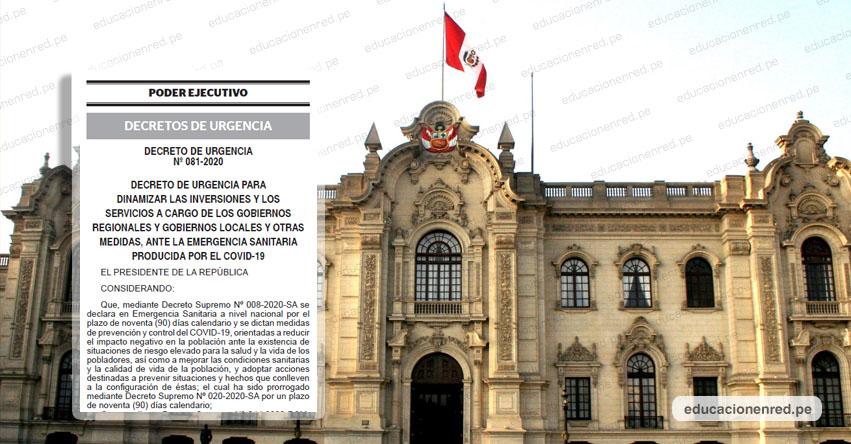 Gobierno oficializa que el 29 de julio no será feriado (D. U. Nº 081-2020)