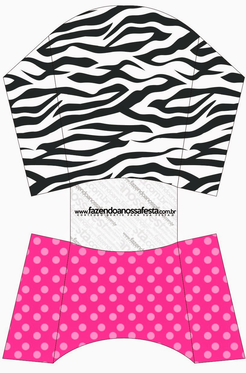 Zebra And Pink: Free Printable Boxes.