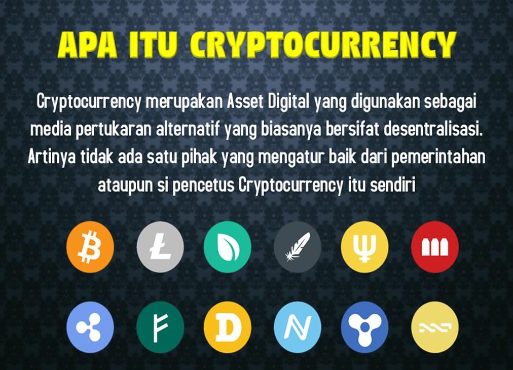 Cryptocurrency itu apa