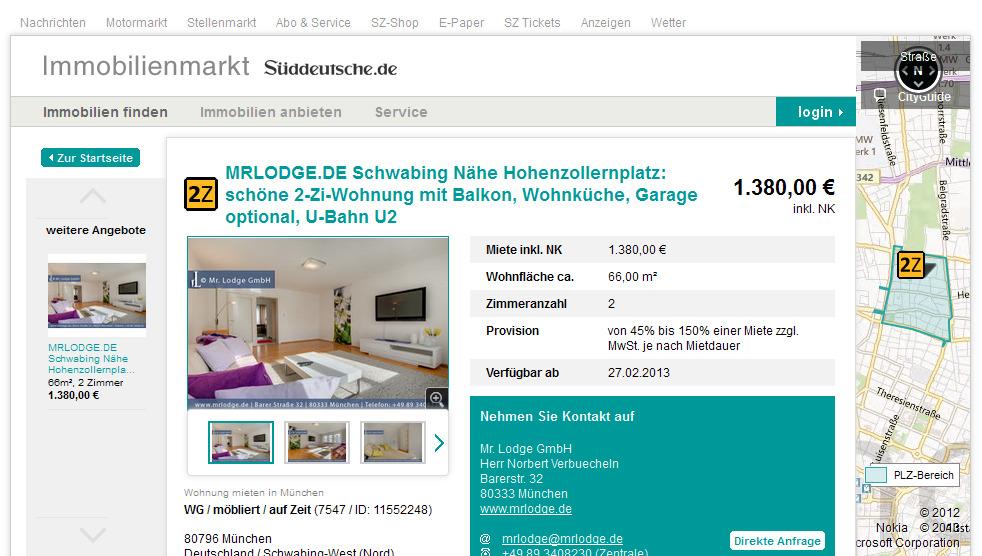 Wohnungen In Augsburg Oberhausen