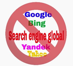 Tidak perlu sumbit blog ke search engine