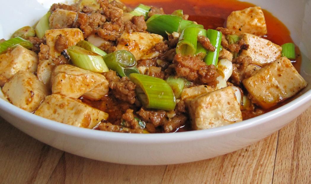 Ma Po Tofu Dish