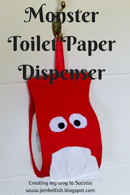 Monster Toilet Paper Dispenser