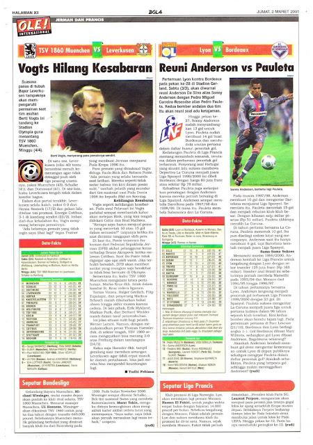 TSV 1860 MUENCHEN VS LEVERKUSEN