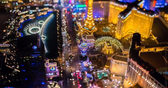 Keindahan Las Vegas Di Malam Hari