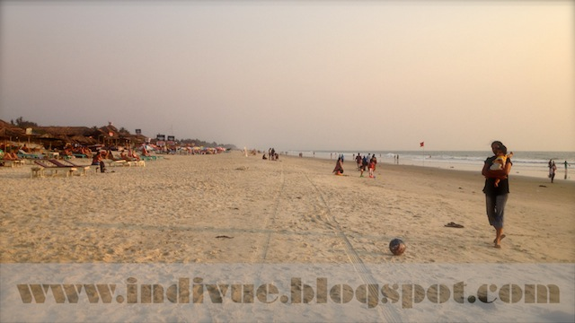 Benaulim Beach, Goa, Intia