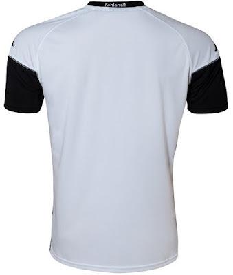 17-18 Borussia Monchengladbach Home White Soccer Jersey