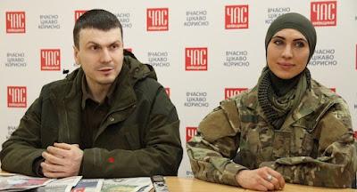 Убита чеченская доброволец Окуева, ее муж – ранен