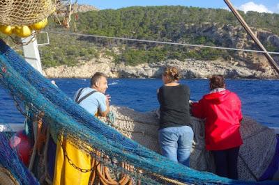 www.pescaturismomallorca.com pescadores y turistas