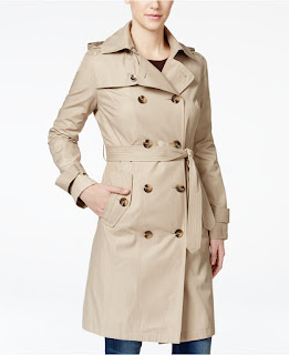 London Fog All Weather Double Breasted Trench Coat $100 (reg $200)