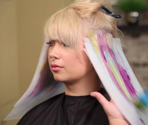 Watercolor Hair