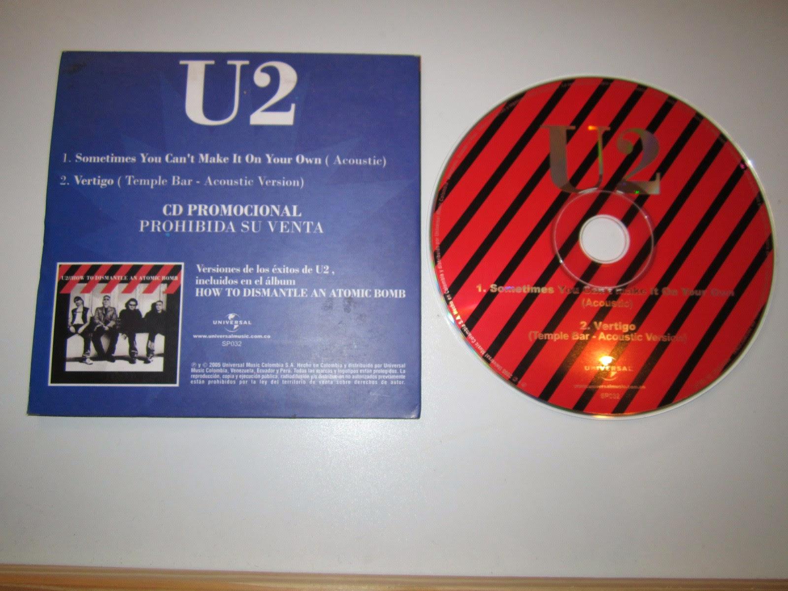 U2 colombian promo -