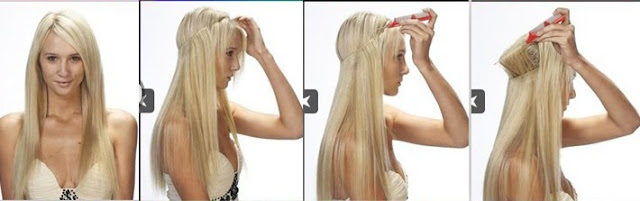 A Model S Secrets Kelly Ripa S Halo Hair Extensions
