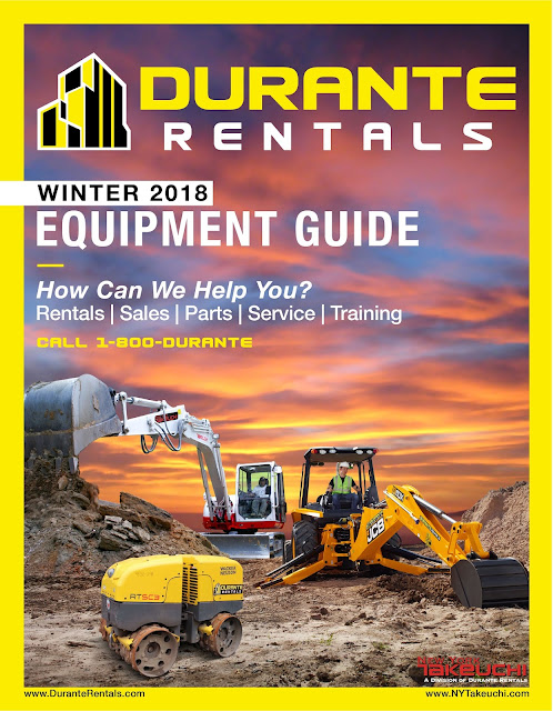Durante Rentals Winter Catalog Cover