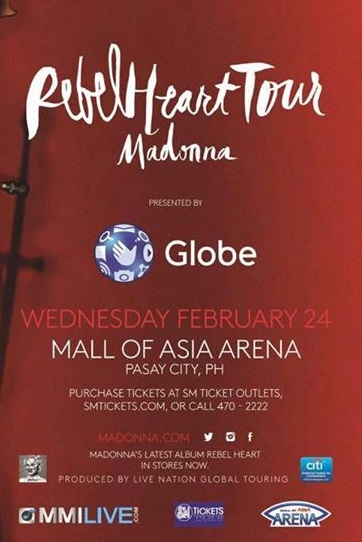 Madonna Live in Manila concert