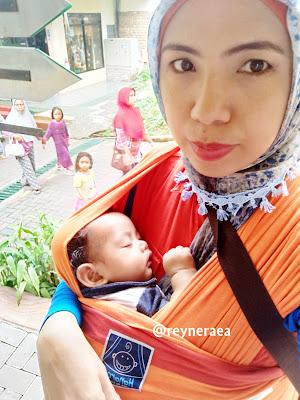 gendongan hanaroo babywrap